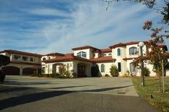 Casa su ordinazione esecutiva in California del Nord Fotografia Stock