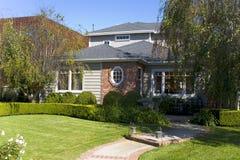 Casa su ordinazione in spiaggia di Newport, CA Immagini Stock Libere da Diritti
