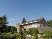 Casa suburbana. Fotografia de Stock Royalty Free