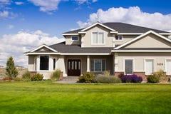 Casa suburbana Imagens de Stock