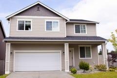Casa suburbana Immagine Stock