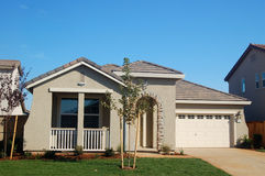 Casa suburbana Foto de Stock