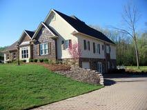 Casa suburbana fotografia de stock