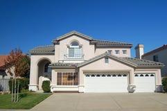Casa suburbana Foto de archivo