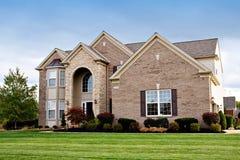 Casa suburbana Foto de archivo libre de regalías