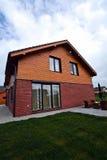 Casa suburbana confidencial Fotos de Stock Royalty Free