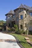 Casa suburbana dell'alta società Fotografie Stock