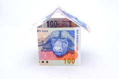 Casa sudafricana Immagine Stock