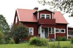 Casa sueca Fotos de archivo