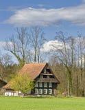 Casa suiza Imagenes de archivo