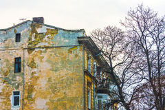 Casa suja velha Foto de Stock Royalty Free