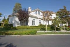 Casa sul sud della penisola di San Francisco Fotografia Stock Libera da Diritti