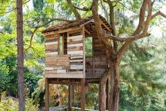 Casa sull'albero Immagini Stock