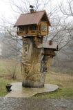 Casa sull'albero fotografie stock