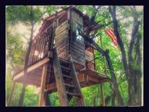 Casa sull'albero Immagine Stock Libera da Diritti