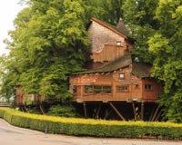 Casa sull'albero del giardino di Alnwick Fotografie Stock