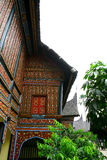 Casa sumatra della coltura Fotografie Stock Libere da Diritti
