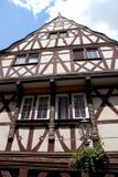 Casa superba della città di Coblenza situata nella valle del Reno in Germania Fotografie Stock