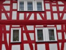 Casa suportada velha em Alemanha Foto de Stock Royalty Free