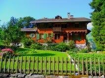 Casa svizzera Fotografia Stock