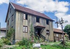 Casa típica Bento Goncalves Brasil Foto de Stock