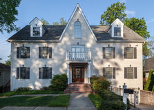Casa típica Bethesda Imagen de archivo libre de regalías