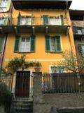 Casa típica da casa de campo de Toscânia Italy imagem de stock