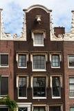 Casa típica de Amsterdam Fotografía de archivo libre de regalías