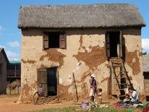 Casa típica de Malagsy foto de archivo libre de regalías