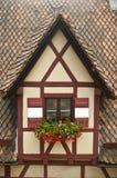 Casa típica del alemán Foto de archivo