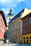 Casa típica en Sibiu, capital europea de la cultura por el año 2007 Imagen de archivo