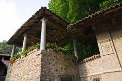 Casa típica. Grazzano Visconti. Emilia-Romagna. Itália. Foto de Stock