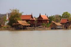 Casa tailandesa del estilo Imagenes de archivo