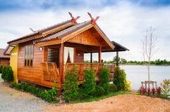 Casa tailandesa do estilo Imagens de Stock Royalty Free