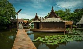 Casa tailandesa do estilo Foto de Stock Royalty Free