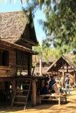 Casa tailandesa do estilo de país de origem Fotos de Stock Royalty Free