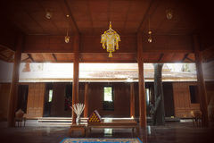 Casa tailandesa tradicional Fotografia de Stock