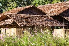 Casa tailandesa vieja, Lanna Style Foto de archivo libre de regalías