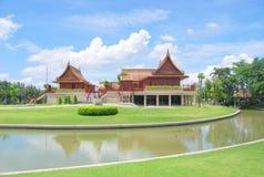 Casa tailandese di stile Fotografie Stock