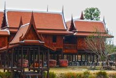 Casa tailandese tradizionale HDR fotografie stock libere da diritti