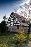 Casa tedesca tradizionale Immagine Stock Libera da Diritti