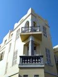 Casa Tel Aviv Israel del estilo del Bauhaus Fotografía de archivo
