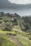 Casa Tenerife di Hillside Fotografie Stock