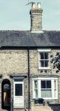 Casa Terraced inglesa foto de stock