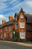 Casa Terraced inglesa Fotos de Stock Royalty Free