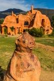 Casa Terracota House Villa de Leyva Boyaca Colombia Royalty Free Stock Images