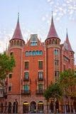 Casa Terrades στη διαγώνιος Avinguda της Βαρκελώνης Στοκ φωτογραφία με δικαίωμα ελεύθερης χρήσης