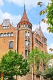 Casa Terrades Zdjęcia Royalty Free