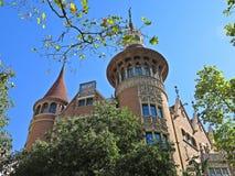 Casa Terrades - Casa DE les Punxes Royalty-vrije Stock Foto