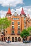 Casa Terrades Stock Image